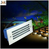 3*1W LED underground light lamps recessed buried floor lamp Waterproof IP65 outdoor Landscape stair lighting AC85-265V 1037