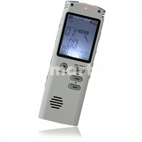 free shipping ALS 8GB T-60 Digital Voice Recorder with MP3/FM/Tel-REC White