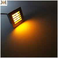 4*1W LED underground light lamps recessed buried floor lamp Waterproof IP65 outdoor Landscape stair lighting AC85-265V 1038