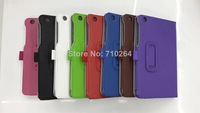 """3 In 1 Kits, Original 8"""" Folio Case+Screen Protector+Touch Pen For Lenovo A5500 With Handstrap & Card Holder, Free Shipping"""