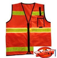 new LED police traffic vest roadway led traffic safety vest