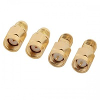 4pcs/set 5.8G SMA Female/Male FPV Antenna Aerial Connector Adapter for Rx and Tx