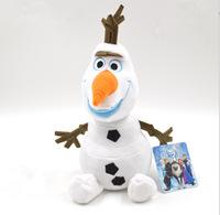 2014 new hot sale Frozen Doll Frozen Plush Toys 30cm Frozen Olaf Kids Dolls for Girls Free shipping