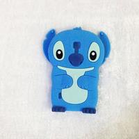 3D Cute Cartoon Stitch  Soft Silicone Back Cover Case  For  LG OPTIMUS L7 II DUAL P715
