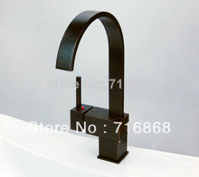 S-003 Construction & Real Estate Oil Rubbed Bronze Finish Swivel Kitchen Sink Faucet Mixer Tap