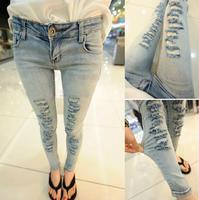 Fashion Women jeans.plus size designer Trousers.Classical Vintage Denim jeans.ladies full length pants wj1015