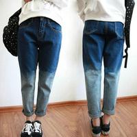 Fashion Women jeans.plus size designer Trousers.Classical Vintage Denim jeans.ladies full length pants wj1017