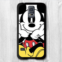 Free Shipping Mickey Mouse Protective Cover Case For Samsung Galaxy S5