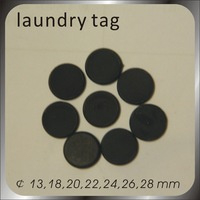 Free shipping 100pcs 13.56MHZ RFID tags / High quality high temperature resistant laundry tag/IC card, various sizes