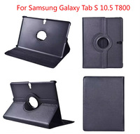 New 360 Rotating PU Leather Stand Case Cover For Samsung Galaxy Tab S 10.5 T800 Tablet PC,Free Shipping!