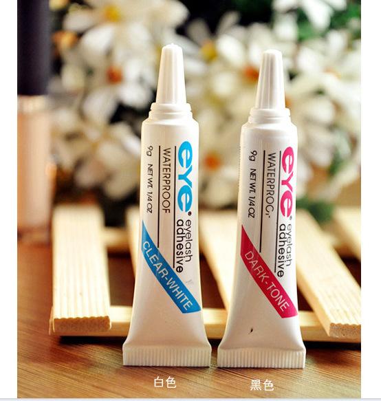 1pcsWaterproof False Eyelashes Makeup Adhesive Eye Lash Glue thin firm Free Shipping(China (Mainland))
