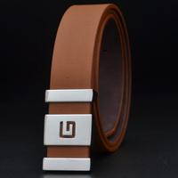 Manufacturer of belt male Han edition tide smooth buckle belts wholesale men's belt men Leisure joker belts
