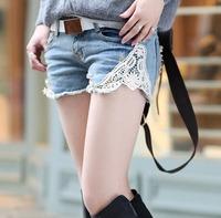 Denim Jean 2014 Women Short Jeans Mild-waist Ripped Washed Vintage Woman Summer Shorts Fashion Cotton Casual Pants CL1684