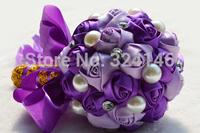 20*30cm Large size  Rose flowers Diamond wedding  bouquets bride hand bouquet wedding accessories Birthday Gift D16