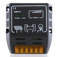 10A 12V/24V Solar Charge Controller Solar Panel Battery Regulator Safe Protection Free Shipping