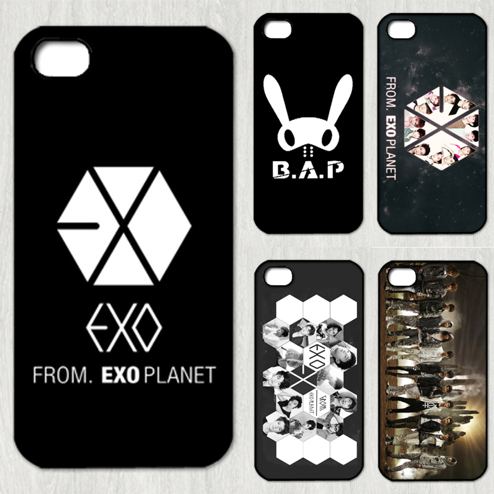 Exo Kpop band fashion original phone Case cover for iphone 5 5s made of the latest material(China (Mainland))