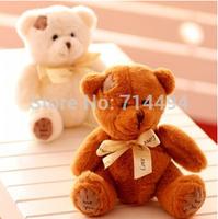 1pcs/lot  20cm Patch bear dolls teddy bear plush toy bear wedding dolls baby toy Birthday gift brinquedos Soft toys