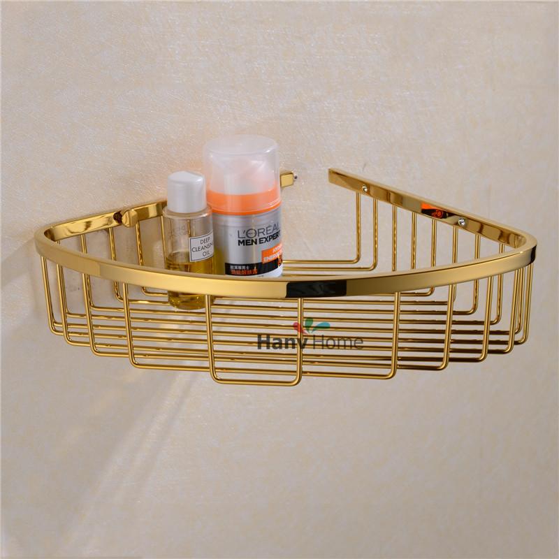 Estantes Para Baños Acero Inoxidable:Comprar Acero inoxidable PVD Ti oro baño soporte de estante estantes