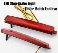 Car auto LED Red Rear Bumper Reflector LED Stop Brake Light LED brake rear Lamp for Buick Enclave LED RED bumper reflector lamp