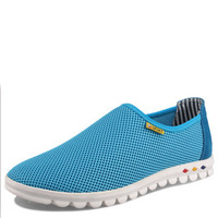 size 38-47 Summer Breathable men Fashion Sneakers ,Sneaker men Sports Outdoor Shoes,Ultralight flats and loafers shoes