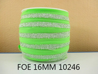 50Y10246 free shipping 5/8 '' (16mm) FOE ribbon diy headwear accessories sewing supplies picture color