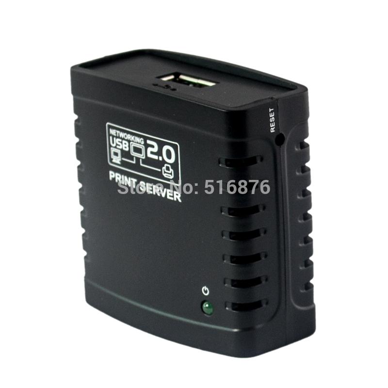 Free Shipping USB 2.0 LRP Network Print Server Wifi Networking Printer Server Share USB Printer Ethernet Hub Adapter(China (Mainland))