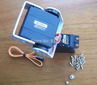 4.2kg  torque analog servo easy FPV Pan/Tilt Camera Platform  Camera Mount For Aircraft FPV plastic FPV  + Free Shipping