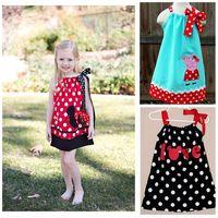 buy wholesale clothing 2014 princess polka dress  3~7age minne mouse/peppa pig girls dresses kid apparel