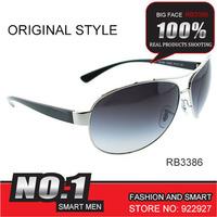 Free shipping 2014 new collection Fashion rb3386 Retro Fashion elegant metal star Sunglasses Women 2014 Free shipping