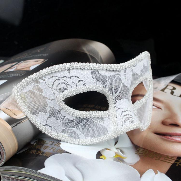 Veneziano flor pena Fancy Dress Costume Masquerade carnaval máscara do partido da bola engraçado cosplay rímel(China (Mainland))