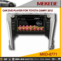New 2014 Hot Car DVD Player for TOYOTA 2012 camry with GPS Navigation,touch screen,bluetooth,mp3/mp4,radio