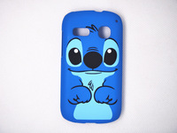 New plastic cartoon stitch hard back case cover fit for Alcatel One Touch Pop C3 OT4033 4033A  blue dog protector hard shell