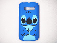 New plastic cartoon stitch hard back case cover fit for Alcatel One Touch Pop C5 5036 OT5036 5036D blue dog protector hard shell