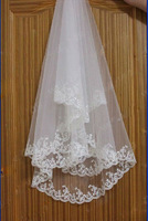 1 layer New White or Ivory Bridal Bridesmaid Wedding dress Accessories Veil
