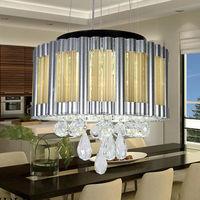 2014 NEW arrived LED crystal chandeliers lights modern lamps Kitchen Art home Deco lights Auxiliary light 110V/220V JD9101