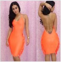 Free shipping Sexy Cut WholesaleDress fashion Sexy hip dress CD 024
