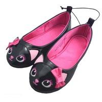 Original HM black owl children shoes Korean princess  girls shoes spring new models