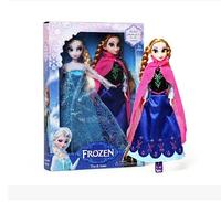 Free shipping frozen doll New Arrival  Frozen Princess 29cm elsa anna frozen dolls set frozen toys for sale