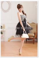 Free Shipping Uncommon 2014 Fashion Summer Celebrity Dress Black