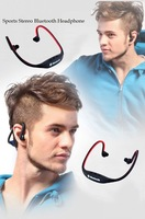 Sports Stereo Wireless Bluetooth 3.0 Headset Earphone Headphone for iPhone 5/4 Galaxy S4/S3 HTC LG Smartphone