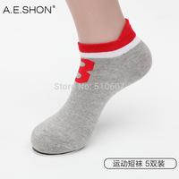 Cotton socks men socks absorb sweat summer tide thin section