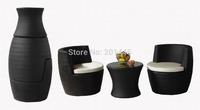 Wicker Garden Furniture sofa set modern furniture