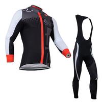New 2014 Castelli Thermal Long Sleeve Cycling Jersey Thermal Bib Pants Winter Cycling Clothing 2014 Free Shipping