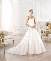 NEW 2014 Style Fashion sleevess sweetheart princess design long  dress banquet design formal dress women wedding dress