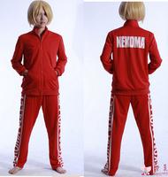 Anime hot Haikyuu Kozume Kenma Hinata Shyouyou high school uniform sport wear cosplay costume set