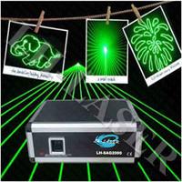 2W Sigle Green Animation laser light/ stage green laser light show / disco laser light with free flight case
