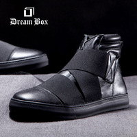 Dream Box New 2014   fashion design mens street style casual sneakers men flat  shoes boots  Sneakers size EU 37-44