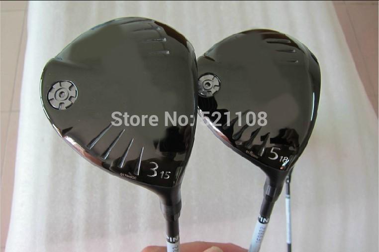 G-25 Fairway Woods #3-15,#5-18, TFC189D Graphite Shaft Regular Flex 2PCS Golf Clubs Set(China (Mainland))