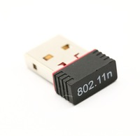 Free Shipping, 150MADAPTER RECEIVER RECEPTOR ANTENA WIFI 150 MB PARA USB ADAPTADOR NANO MINI WIRELESS LAN remitente NETWORK CARD