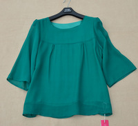 A1035 double layer silk top elegant comfortable